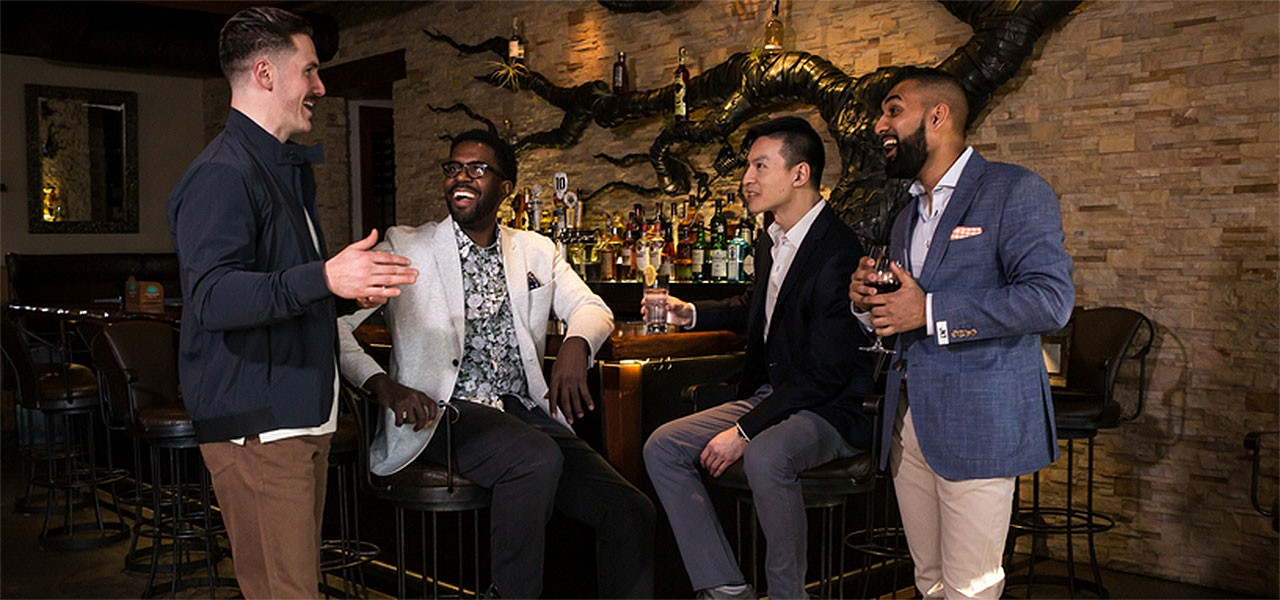 Level Up: Style & Confidence Men's Mixer